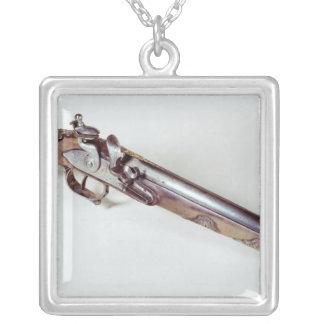 Pistol belonging to Abd el-Kader Silver Plated Necklace