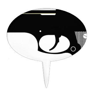 Pistol Cake Topper