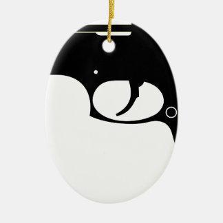 Pistol Ceramic Ornament