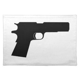 Pistol Cloth Placemat