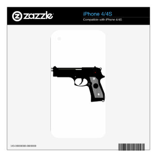 Pistol iPhone 4S Decal
