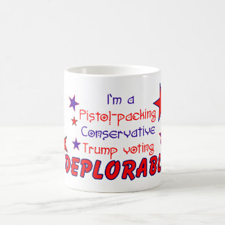 Pistol Packin Conservative Trump Voting Deplorable Coffee Mug