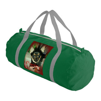 Pistol Packing Lady Paisley Marie Gym Bag