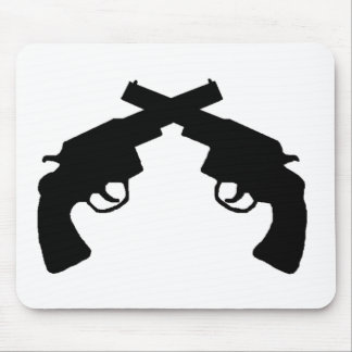 Pistol packing products mouse pad
