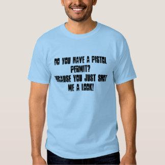 Pistol Permit Men's T-Shirt