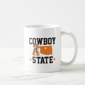 Pistol Pete Cowboy State Coffee Mug