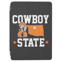 Pistol Pete Cowboy State iPad Air Cover