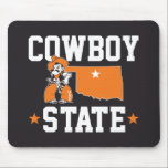 "Pistol Pete Cowboy State Mouse Pad<br><div class=""desc"">Check out these official Oklahoma State University products! Personalize your own OSU Cowboy merchandise on Zazzle.com. These products are perfect for the OSU student,  alumni,  or fan in your life.</div>"