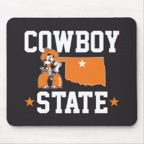 Pistol Pete Cowboy State Mouse Pad