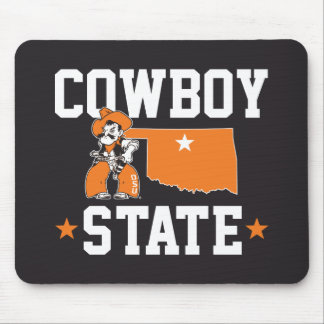 Pistol Pete Cowboy State Mouse Pad