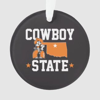 Pistol Pete Cowboy State Ornament