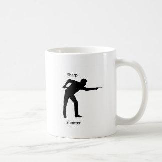 Pistola aguda tazas de café