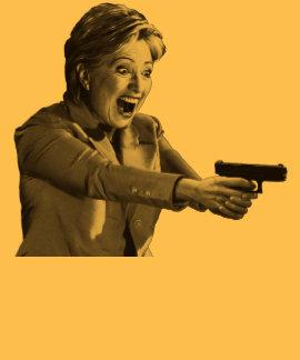 Pistola de Hillary Camisetas