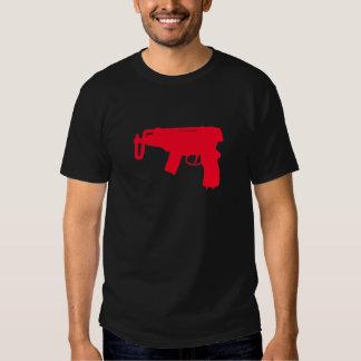 Pistola de máquina remera