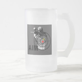 Pistola de Paintball - objetivo Tazas De Café