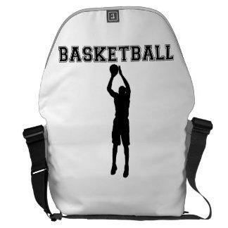 Pistola del baloncesto bolsas messenger
