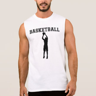 Pistola del baloncesto camisetas sin mangas