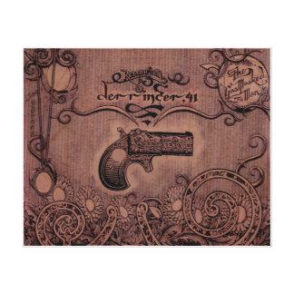 Pistola del Derringer .41 de Remington Impresión En Lienzo