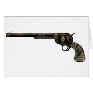 Pistola del Victorian Tarjeta De Felicitación