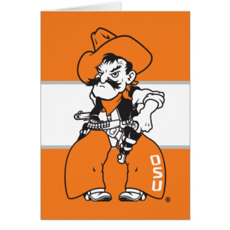 Pistola Pete de OSU Tarjeta Pequeña