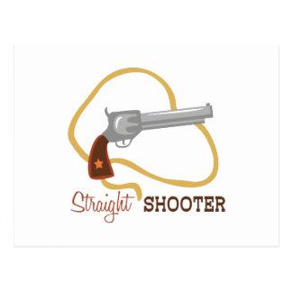 Pistola recta tarjeta postal