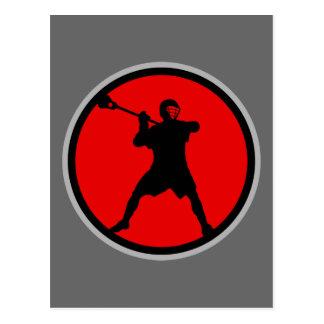 Pistola-rojo Postal