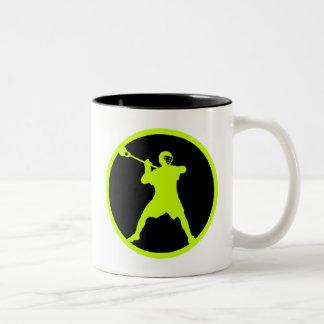 Pistola-verde Tazas De Café