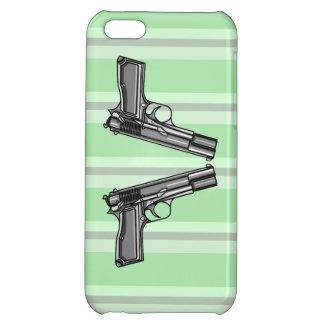 Pistolas, ejemplo de la arma de mano