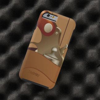 Pistolera del arma del vaquero funda para iPhone 6 tough