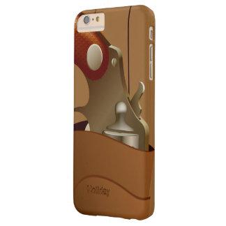 Pistolera del arma del vaquero funda para iPhone 6 plus barely there