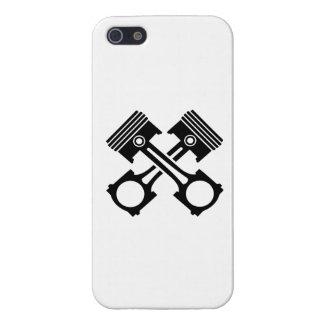 Pistón cruzado iPhone 5 coberturas