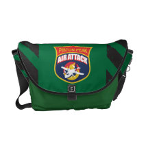 Piston Peak Air Attack Badge Courier Bag