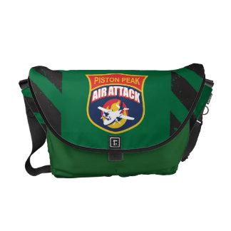 Piston Peak Air Attack Badge Courier Bag