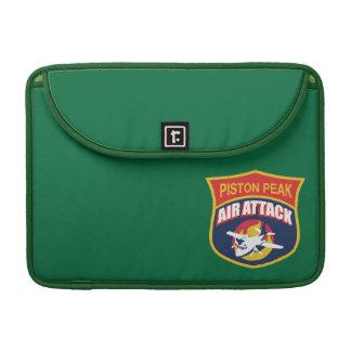Piston Peak Air Attack Badge MacBook Pro Sleeve