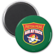 Piston Peak Air Attack Badge Magnet