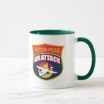 Piston Peak Air Attack Badge Mug