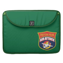 Piston Peak Air Attack Badge Sleeve For MacBooks