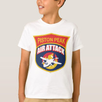 Piston Peak Air Attack Badge T-Shirt