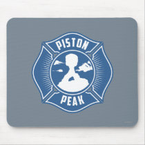 Piston Peak Badge Mouse Pad