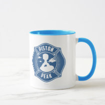 Piston Peak Badge Mug