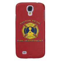 Piston Peak Fire Department Badge Galaxy S4 Case