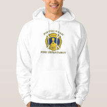 Piston Peak Fire Department Badge Hoodie