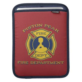 Piston Peak Fire Department Badge iPad Sleeves
