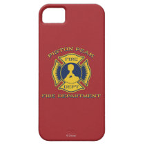 Piston Peak Fire Department Badge iPhone SE/5/5s Case
