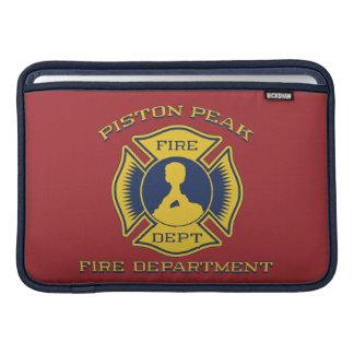 Piston Peak Fire Department Badge MacBook Sleeve