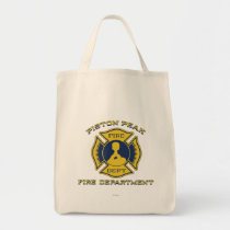 Piston Peak Fire Department Badge Tote Bag