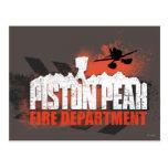 Piston Peak Fire Department Postcard