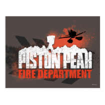 Piston Peak Fire Department Postcard