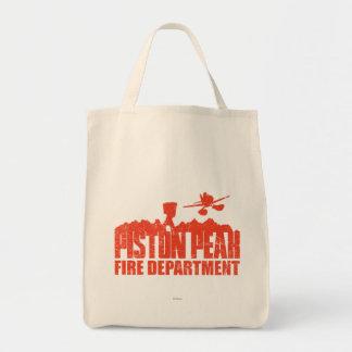 Piston Peak Fire Department Tote Bag
