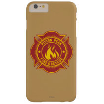 Piston Peak Fire & Rescue Badge Barely There iPhone 6 Plus Case